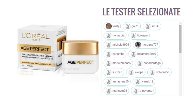tester Age Perfect L'Oreal