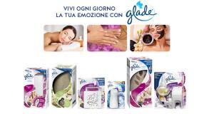 trattamento benessere omaggio con Glade