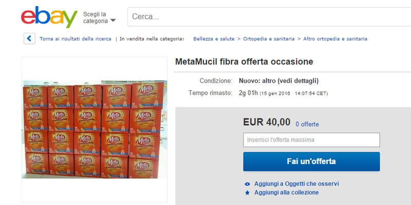 vendita progetti test MetaMucil