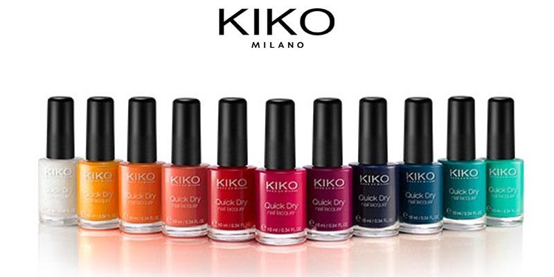 10 smalti a 10 euro da KIKO Milano