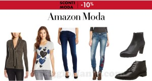 Amazon Moda extra sconto 10