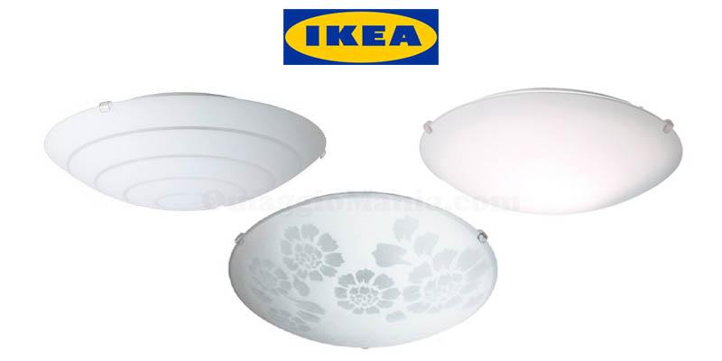 IKEA ritiro plafoniere rischio caduta