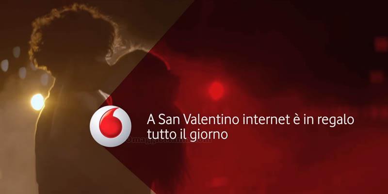 Internet gratis da Vodafone per San Valentino 2016