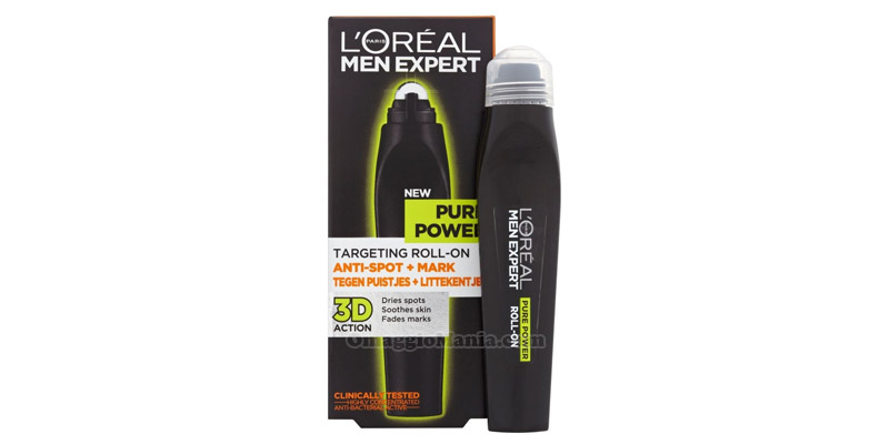 L'Oreal Men Expert Targeting Roll-on Pure Power