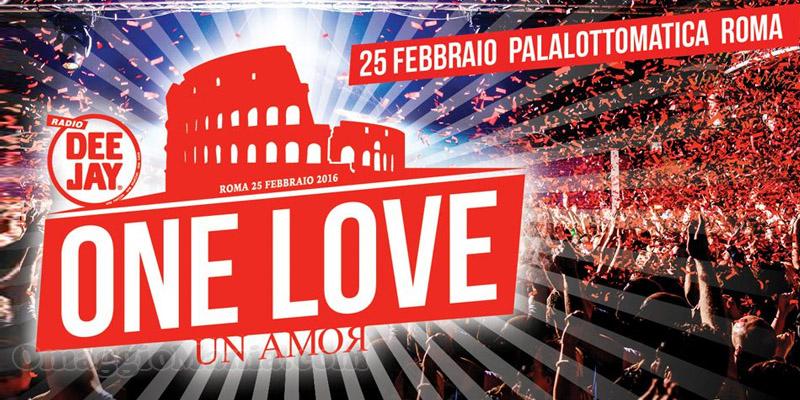 One Love Un Amor festa di compleanno di Radio Deejay