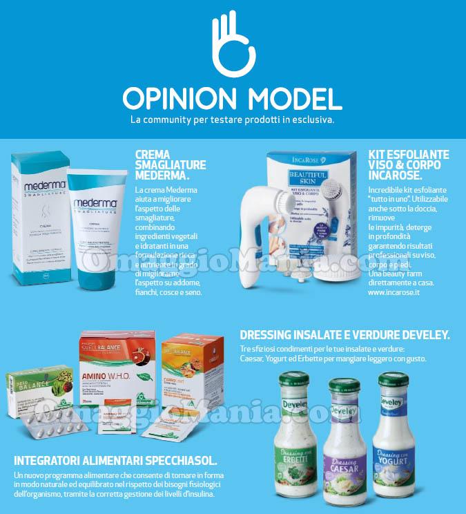 Opinion Model prodotti