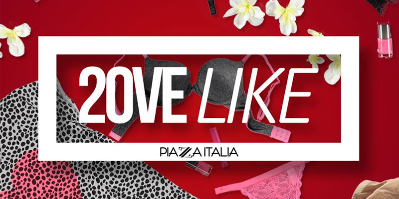 Piazza Italia 20ve Like