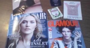 Vanity Fair Glamour e omaggi di Mariella