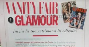 Vanity Fair e Glamour in edicola anticipazione