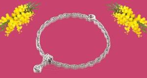 bracciale omaggio per la Festa della Donna da SISA