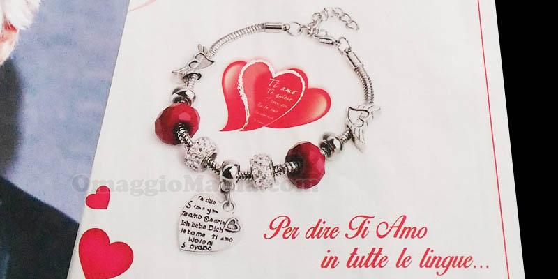 braccialetto omaggio Acqua&Sapone