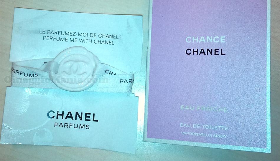 braccialetto porta profumo Chanel di Sara