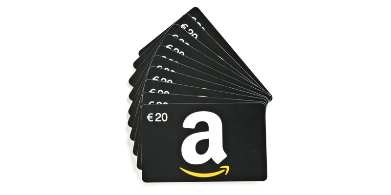 Vinci gratis buoni amazon da 20 euro omaggiomania for Buoni omaggio amazon