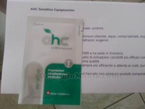 campione gratuito AHC Sensitive di Sabry77