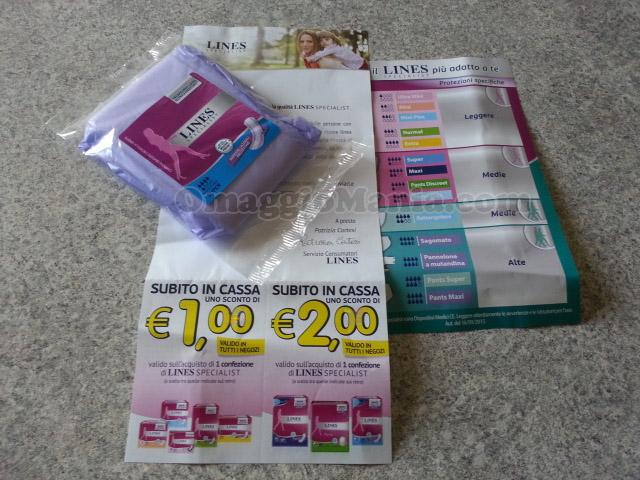 campioni omaggio e coupon Lines Specialist