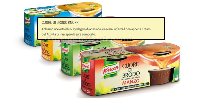 candidatura Cuore di Brodo Knorr