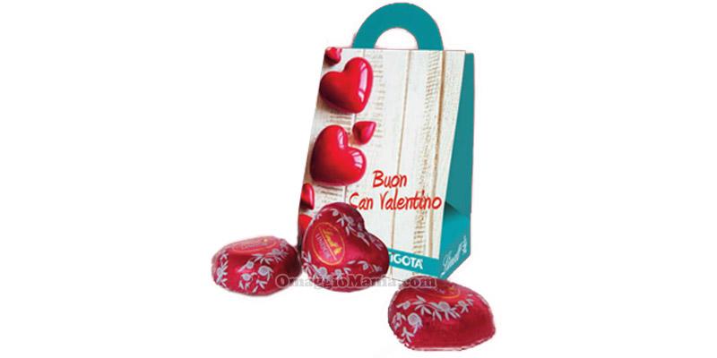 cioccolatini Lindt omaggio da Tigotà per San Valentino