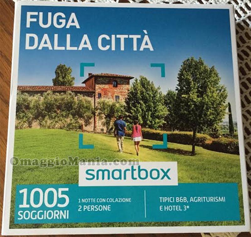 cofanetto Smartbox Fuga dalla città vinto da David