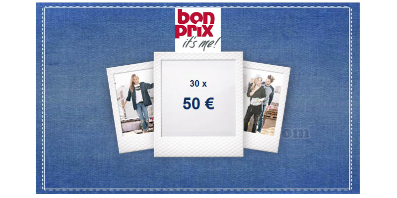 concorso Denim Lottery Bonprix
