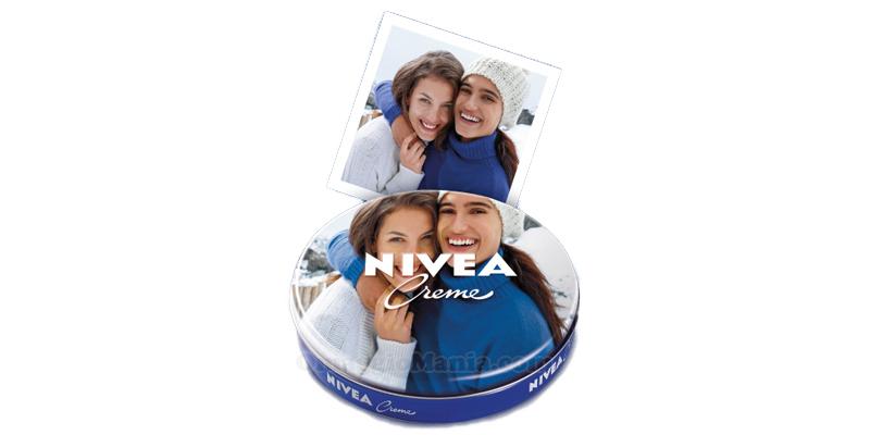 crema Nivea personalizzata con foto