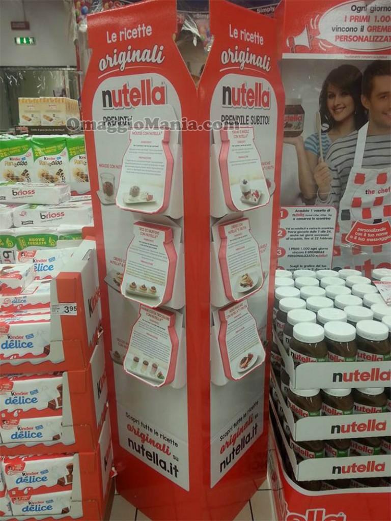 Ricette originali nutella gratis omaggiomania for Ricette originali