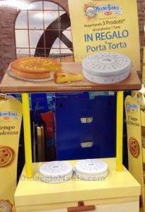 espositore porta torta Mulino Bianco omaggio di Tatiana