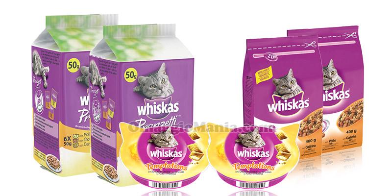 fornitura di prodotti Whiskas