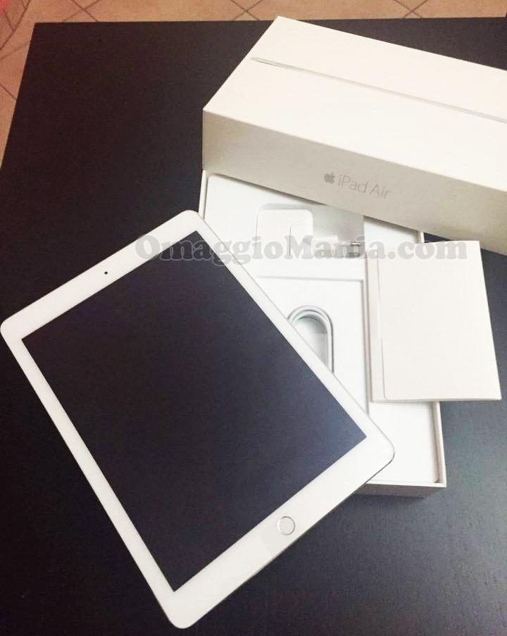 iPad Air 2 vinto con Q Cells da rita