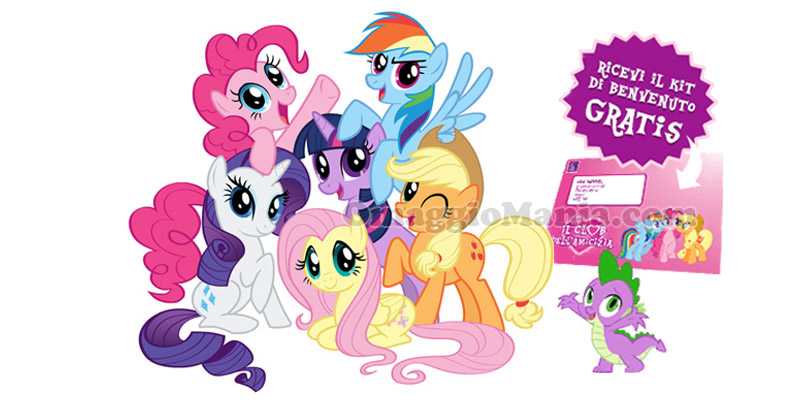 kit di benvenuto My Little Pony gratis