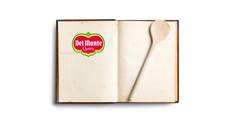 libro di ricette Del Monte