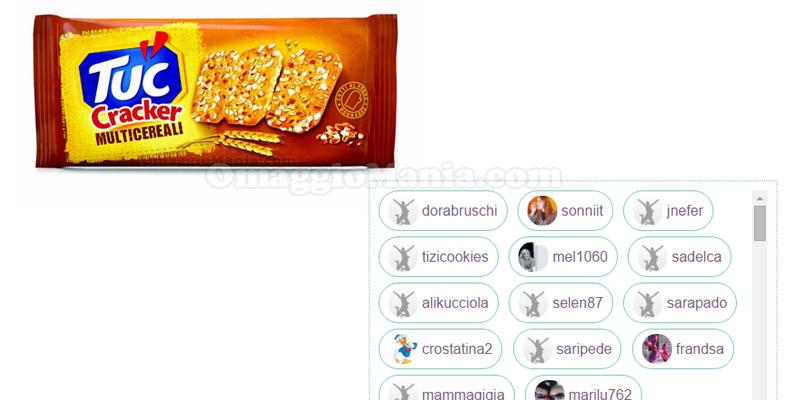 lista tester TUC Cracker Multicereali