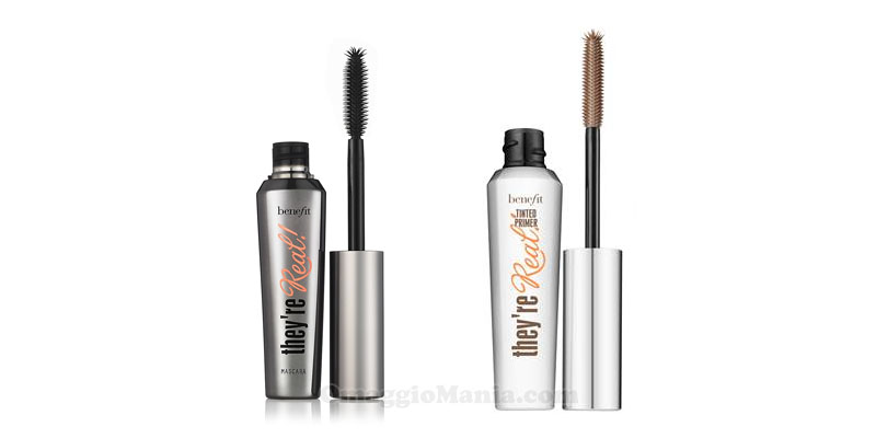 mascara e primer They're Real Benefit Cosmetics
