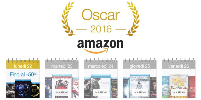 oscar 2016 Amazon