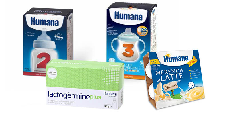 prodotti buono sconto Humana febbraio 2016