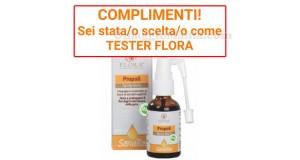 scelta tester Flora