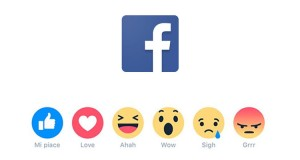 tasti reactions Facebook