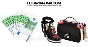 vinci 1000 euro shopping LuisaViaRoma