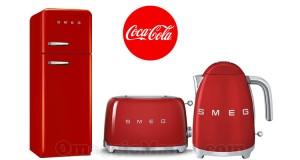 vinci Smeg con Coca Cola