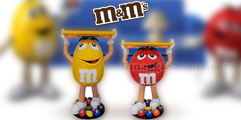 vinci character display M&M's 2016