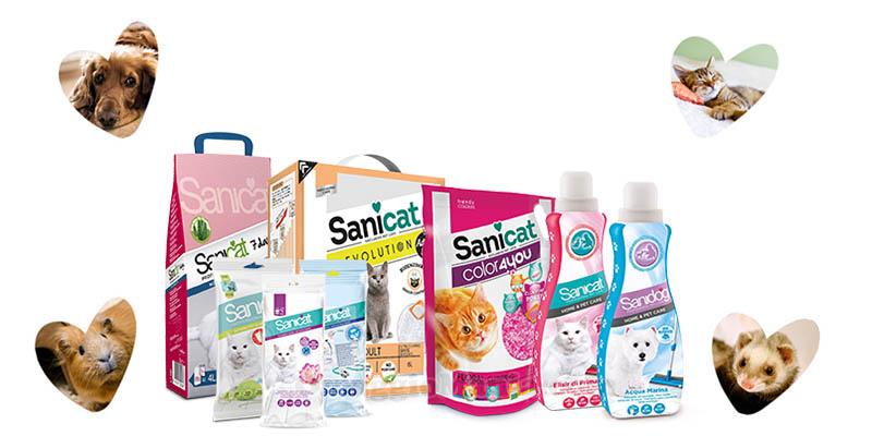 vinci pack di prodotti Sanicat