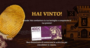 vincita buono spesa di 400€ di Enrico