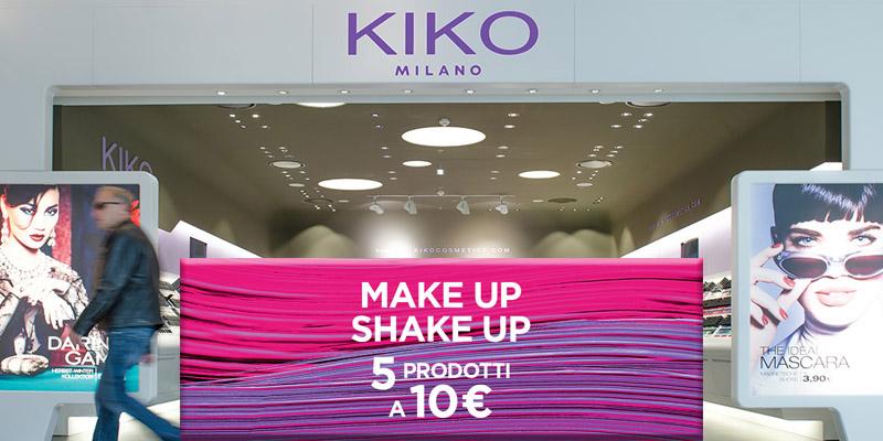 5 prodotti a 10 euro Kiko Milano