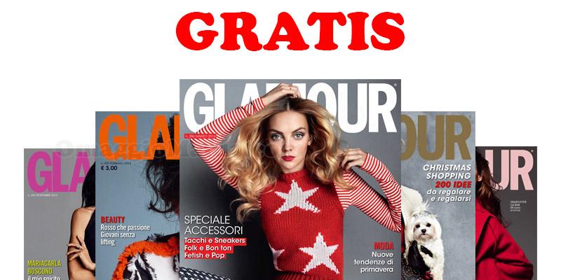 6 mesi di rivista Glamour gratis