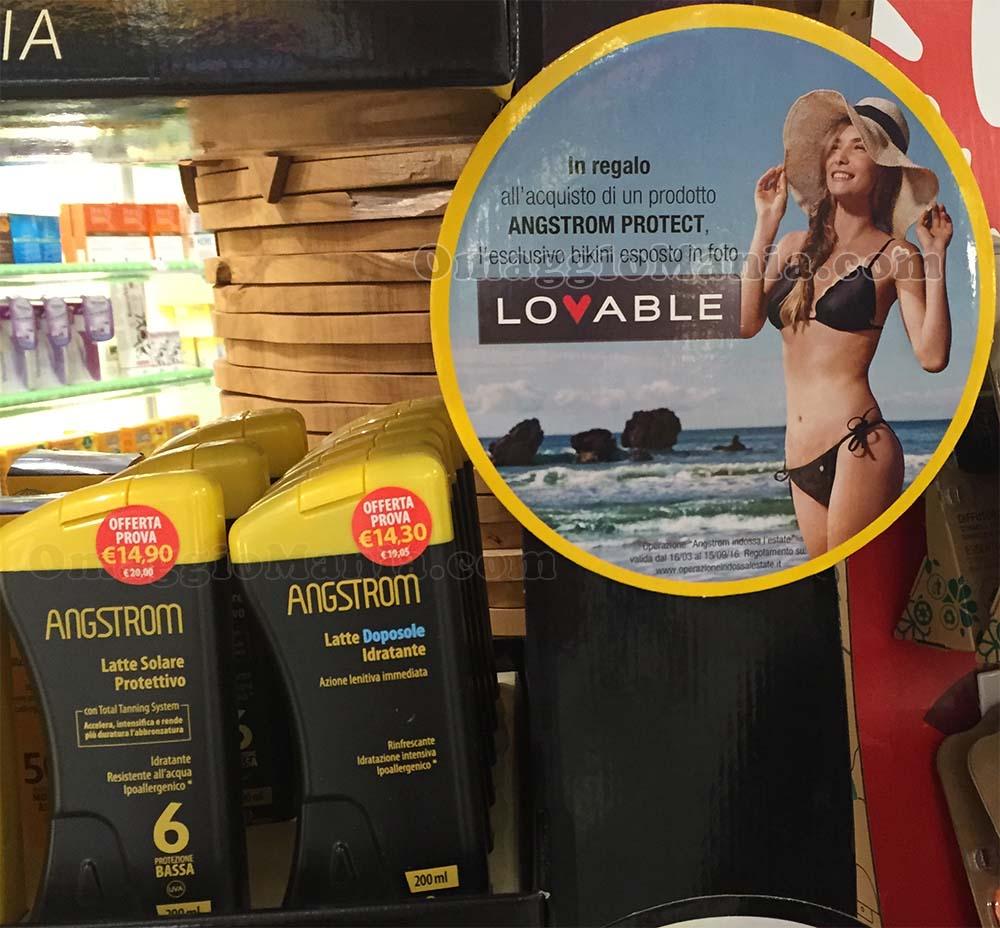 Bikini Lovable omaggio con Angstrom Protect
