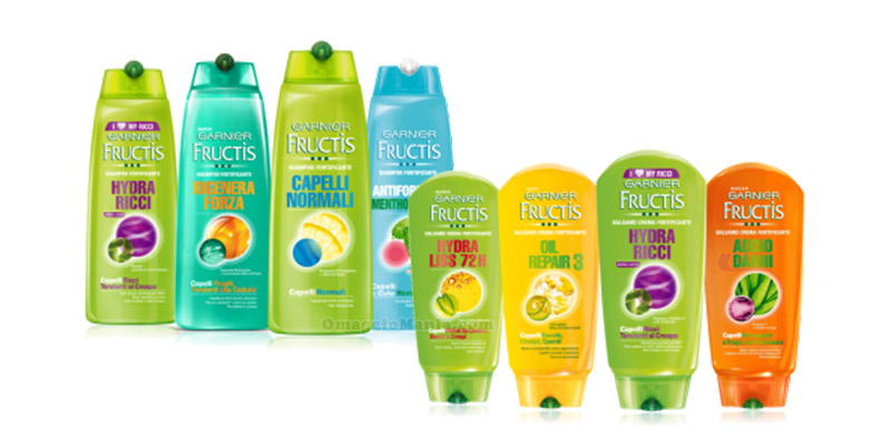 Garnier Fructis shampoo e balsamo