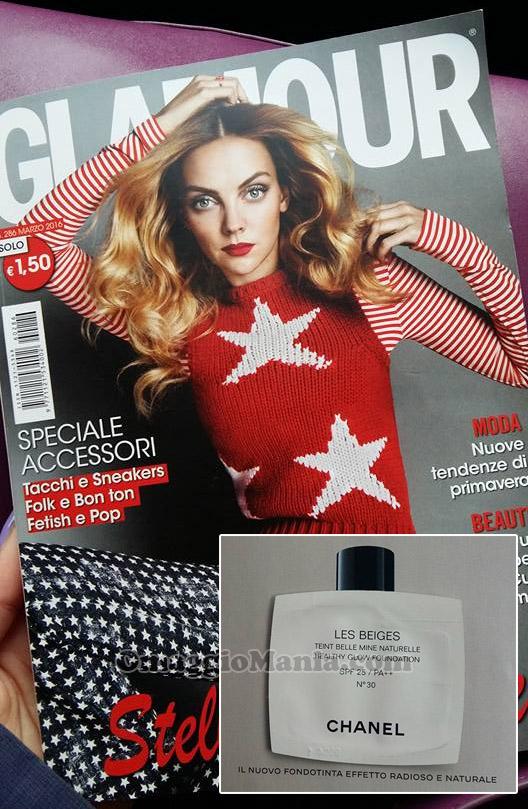 Glamour 286 con campioncino Chanel