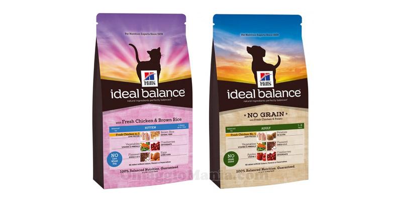 Hill's Ideal Balance cani o gatti