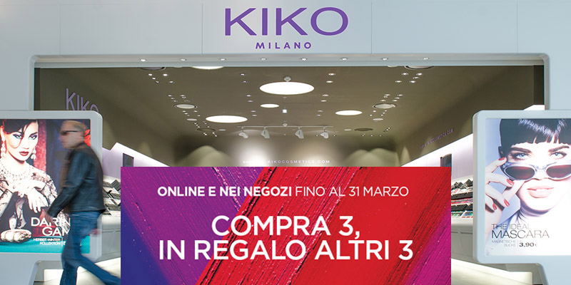 Kiko Milano Make Up Mania