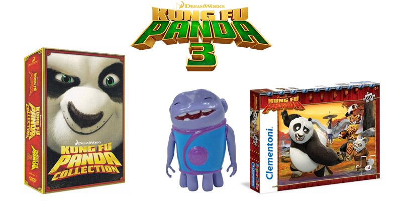 Kung fu Panda 3 prodotti Dreamworks