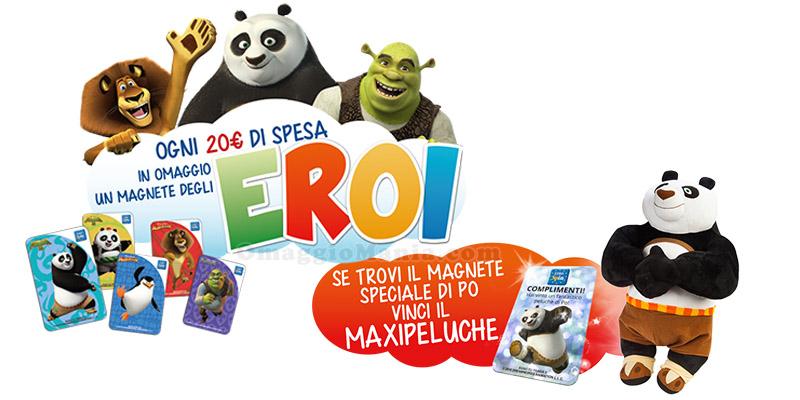 Magneti degli Eroi Eurospin